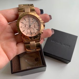 Michael Kors Gold/Rose Gold watch